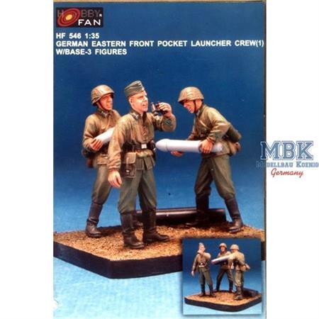 Nebelwerfer Crew I (3 Fig.) w/Base
