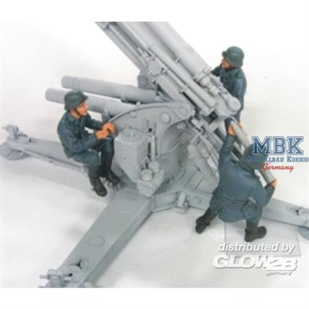 88mm Flak Crew Set 2(Luftwaffe)