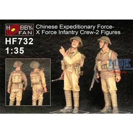 """Chinese Expeditionary Force-""""X Force"""""""