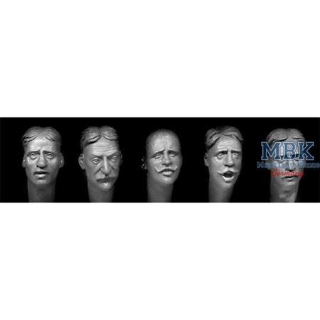 5heads various European faces w/haircuts 1880-1914