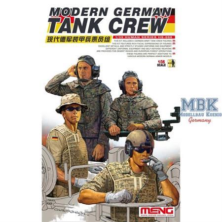 Modern German Tank Crew - Bundeswehr