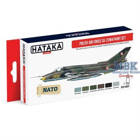 Polish Air Force Su-22M4 paint set