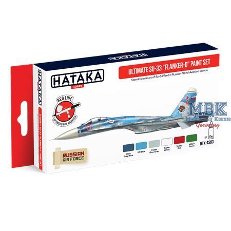 "Ultimate Su-33 ""Flanker-D"" paint set"