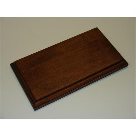 Holzsockel, 20 x 11cm, Mahagoni