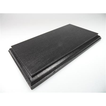 Holzsockel, 20 x 11cm, schwarz
