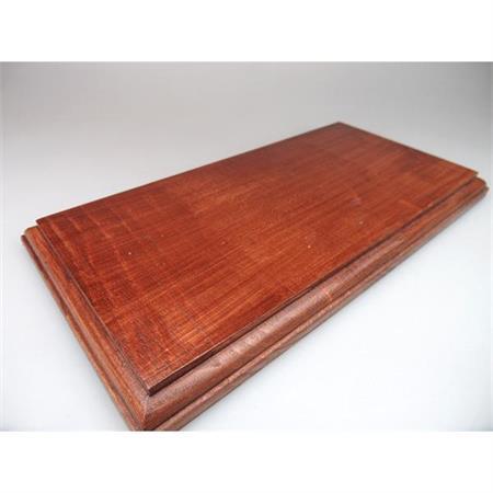 Holzsockel, 25 x 13cm, Mahagoni