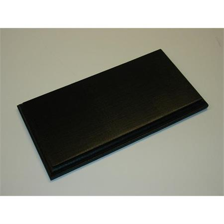 Holzsockel, 30 x 15cm, schwarz