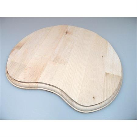 Holzsockel, unregelmäßig Form 2, 28cm, unbehandelt