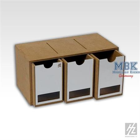 Drawers Module x3     --> A33 <--