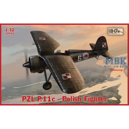 PZL P.11c Polish Fighter