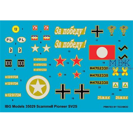 Scammell Pioneer SV2S Heavy Breakdown Tractor