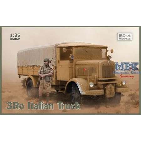 Lancia 3Ro Italian Truck Cargo Version