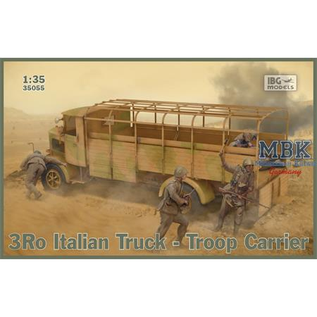 Lancia 3Ro Italian Truck Troop Carrier