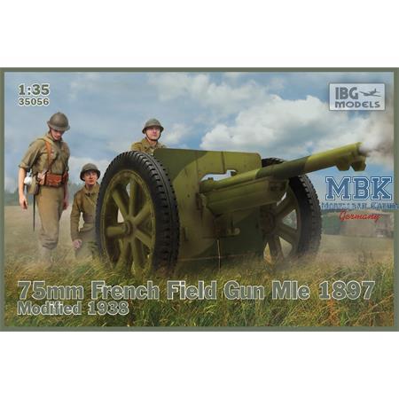 75mm French Field Gun Mle 1897 - Mod.1938