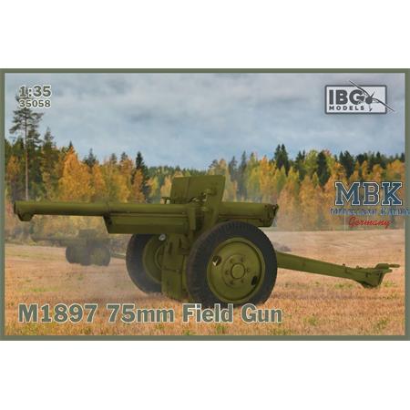 M1897 75mm Field Gun (French 75 in US Service)
