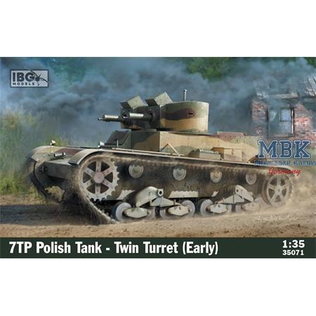7TP Polish Tank - Twin Turret (early)