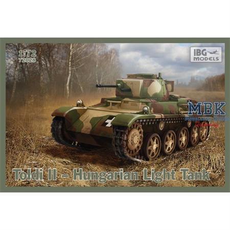 Toldi II Hungarian Light Tank