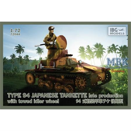 TYPE 94 Japanese Tankette - late production