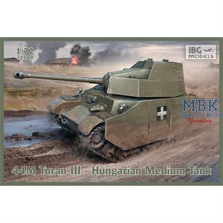 43M Turan III – Hungarian Medium Tank