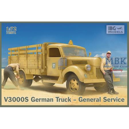 V3000S German Truck – General Service