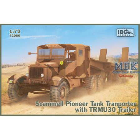 Scammell Pioneer Tank Transporter with TRMU30