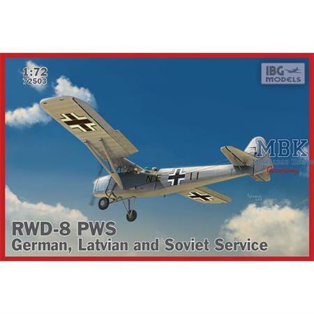 RWD-8 PWS – German, Latvian and Soviet service