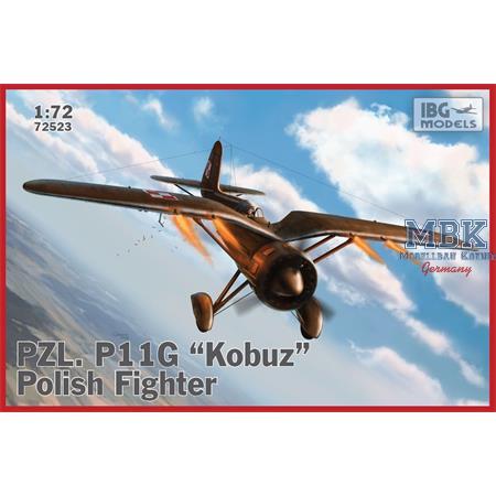 """PZL P.11g """"Kobuz"""" - Polish Fighter Plane"""