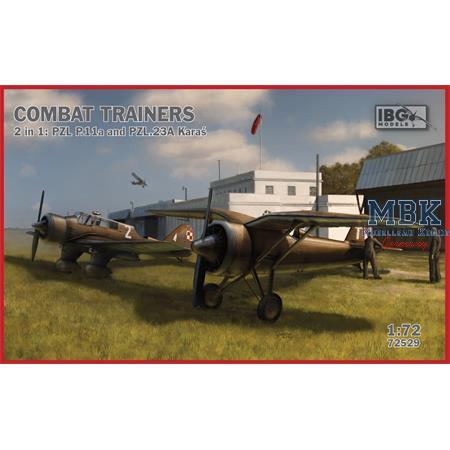 Combat Trainers 2in1: PZL P.11a and PZL.23A Karas