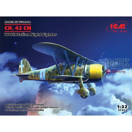 CR.42CN, WWII Italian Night Fighter