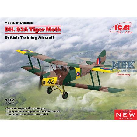 D.H.82A Tiger Moth, British Training Aircraft