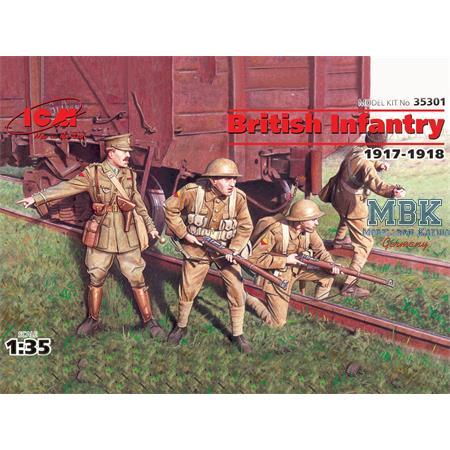 British Infantry 1917/18