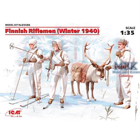 Finnish Riflemen (Winter 1940)