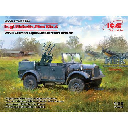le.gl.Einheits-Pkw Kfz.4 Anti Aircraft Vehicle