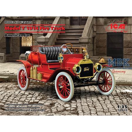 Model T 1914 Fire Truck, American Car