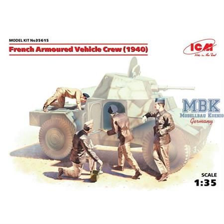 French Armored Vehicle Crew