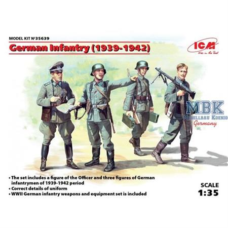 German Infantry (1939-1942)