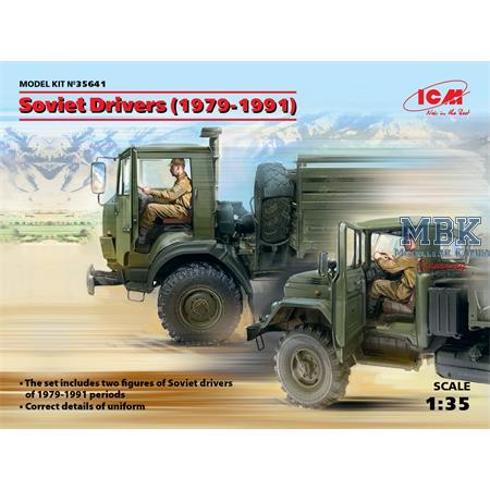 Soviet Drivers (1979-1991)