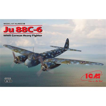 Ju 88C-6 WWII German Heavy Fighter