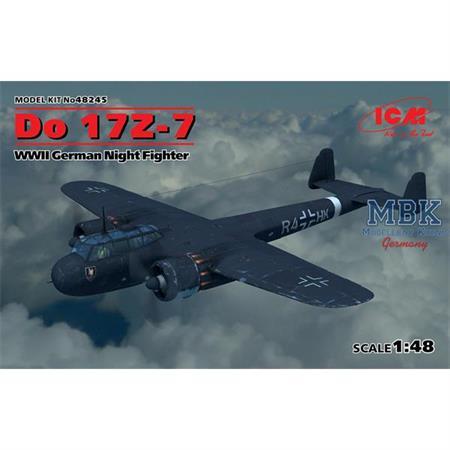 Do 17Z-7  WWII German Night Fighter