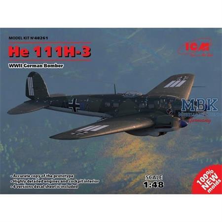 Heinkel He 111H-3 Bomber