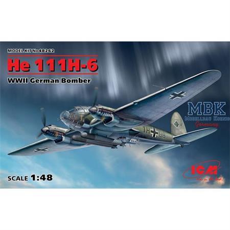 Heinkel He 111H-6 Bomber
