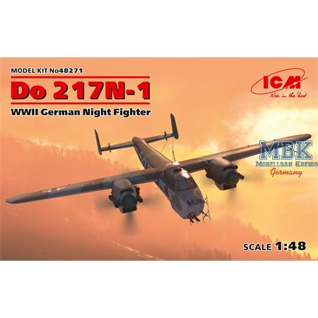 Do 217N-1, WWII German Night Fighter