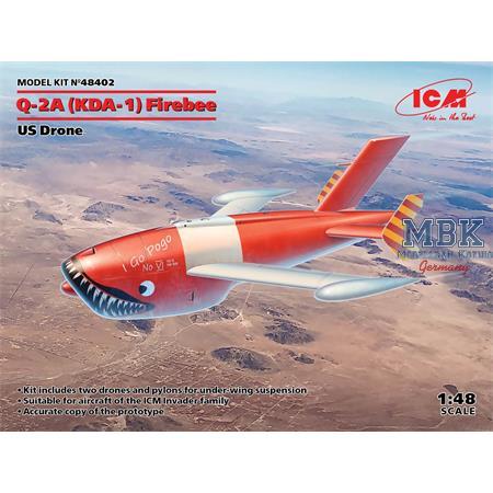 Q-2A (KDA-1) Firebee, US Drone