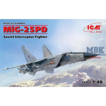 MiG-25 PD, Soviet Interceptor Fighter