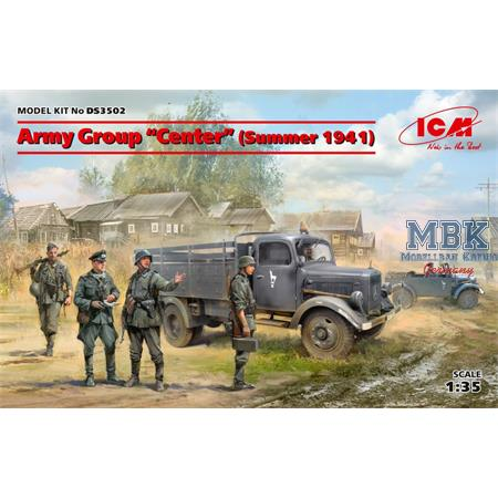 "DIORAMA SET - Army Group ""Center"" (Summer 1941)"