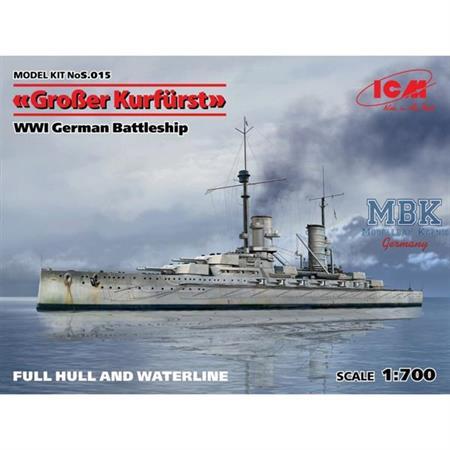 German Battleship Großer Kurfürst