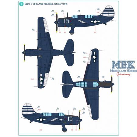 SB2C-4 Helldiver 1/32