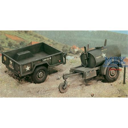 250 gal Tank Trailer - M101 Cargo Trailer
