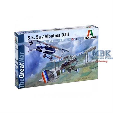 S.E.5a and Albatros D.III