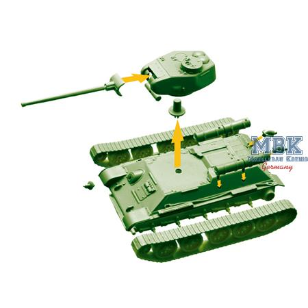 T-34/85  WoT fast Assembly Kit  1/72